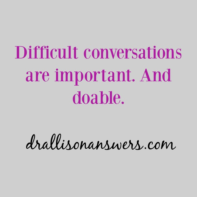 How to Have a Difficult Conversation Easier