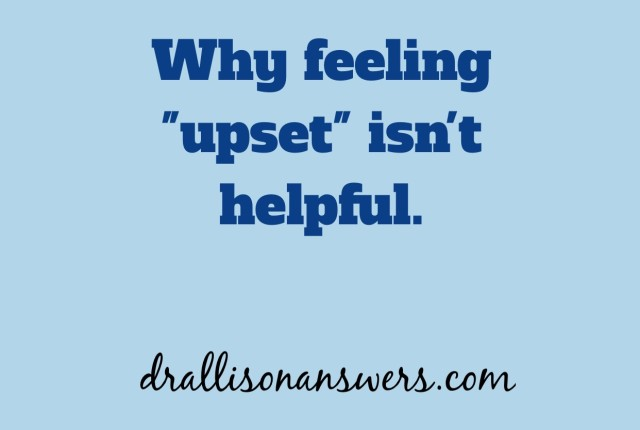 The importance of using descriptive words to capture your emotional experience via Dr. Allison Answers
