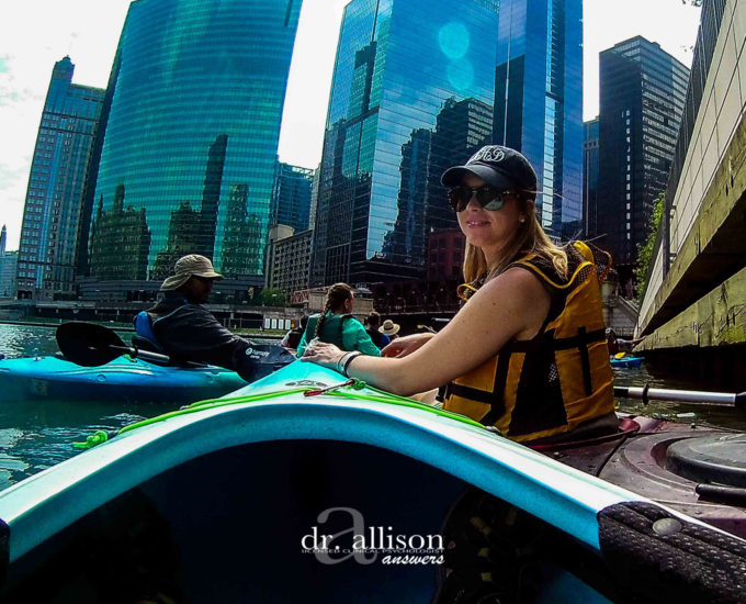See Me Kayak the Chicago River with Wateriders