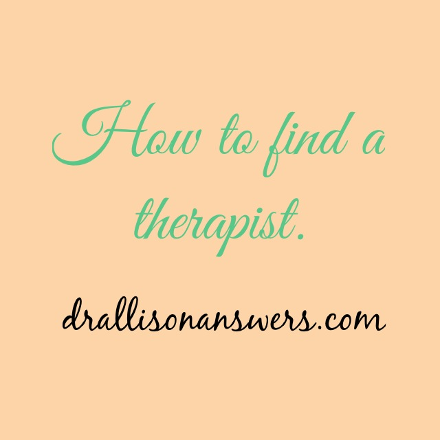 How to Find a Therapist, 5 Simple Steps