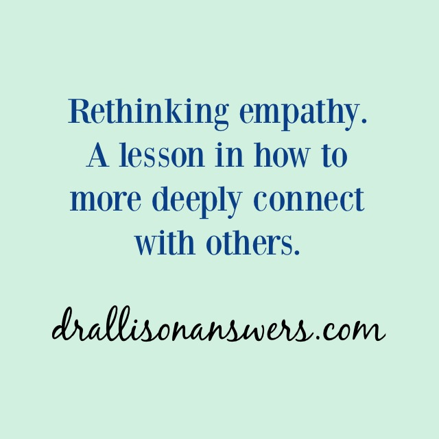Empathy, It Isn't What You Think