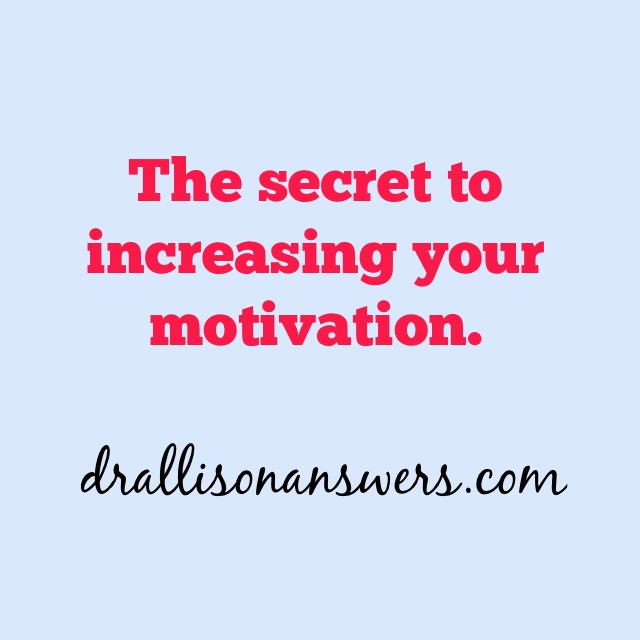 The Secret About Motivation You Need to Know