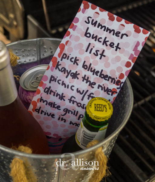 My Summer Bucket List and 5 Tips to Make Your Own