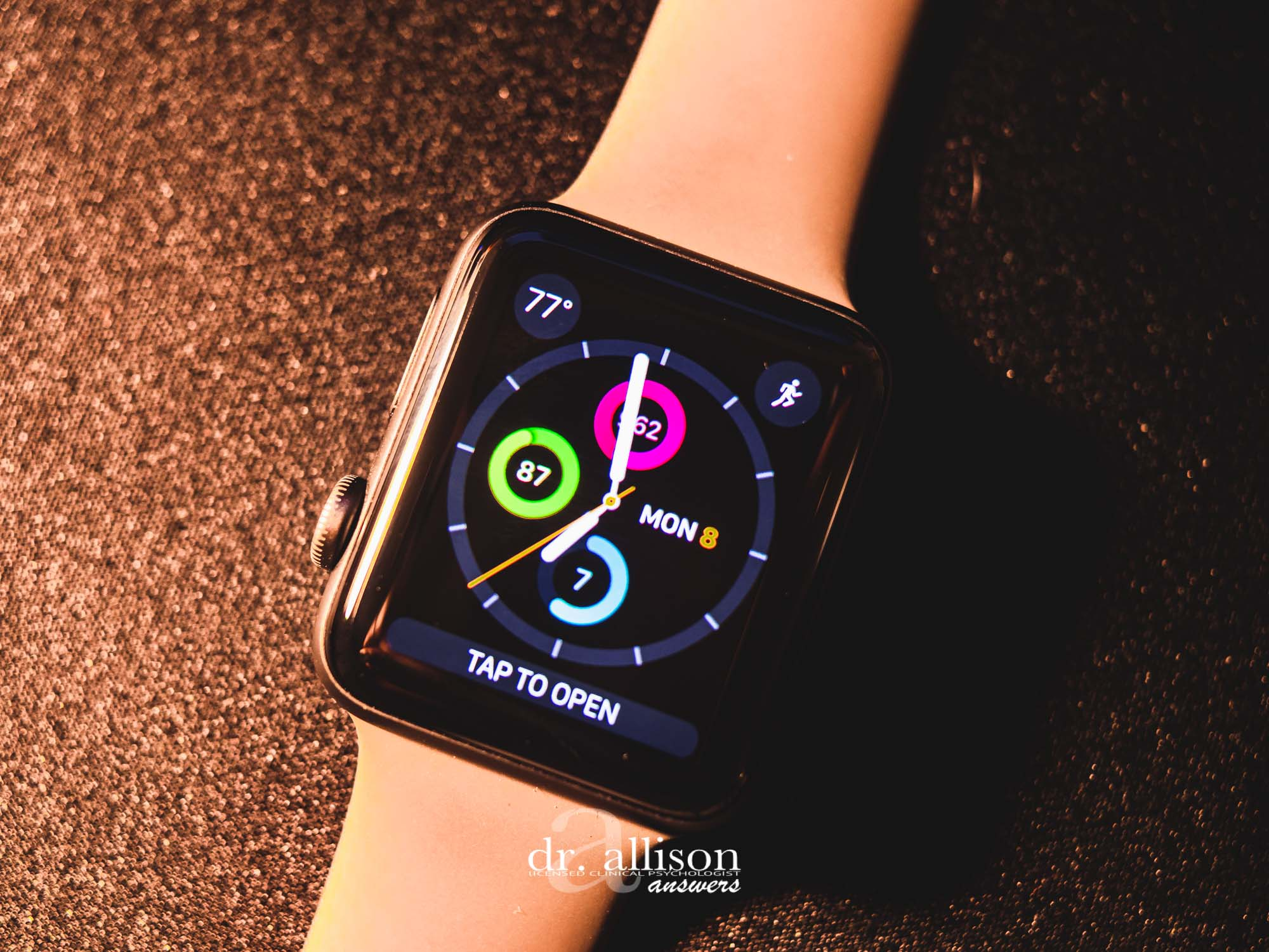 A Psychologist's Apple Watch Review: Helpful or Harmful? via Dr. Allison Answers