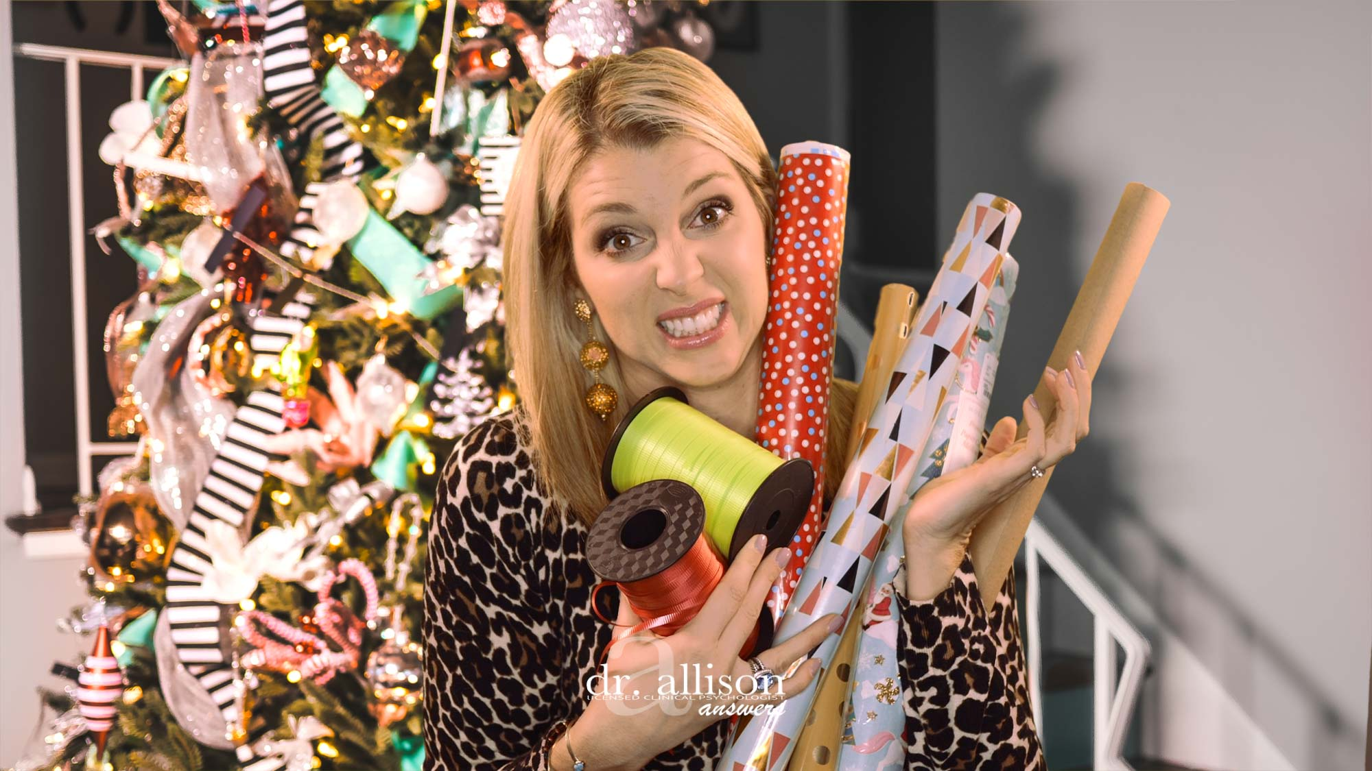 Take the Stress Out of Gift Giving via Dr. Allison Answers